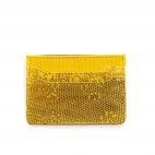 Yellow Lizard Card Holder Lolo