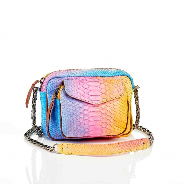 Rainbow Python Charly Bag