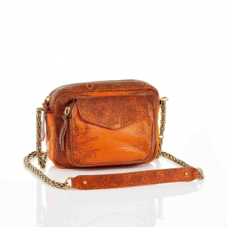 Sac Lezard Charly Orange