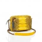 Yellow Lizard Charly Python Bag