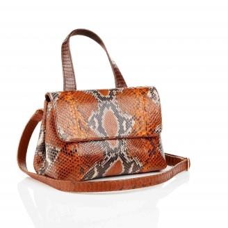 Shoulder Bag Little Mimi Orange Painted