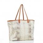 Diamond Gold Foil Tote Bag Python Marny