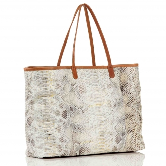 Cabas Python Big Marny Diamond Or