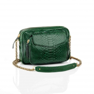 Bag Python Big Charly Matcha With Chain