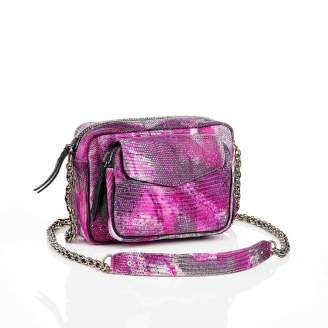 Pink Ink Charly Lizard Bag