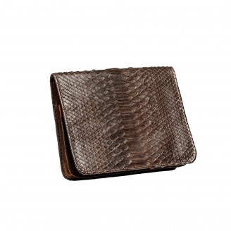 Python Chocolate Clutch Roland