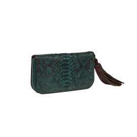 Green Forest Python Wallet Bob