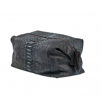 Toilet Case Python Humphrey Denim