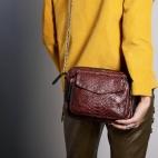 Python Bag Big Charly Burgundy