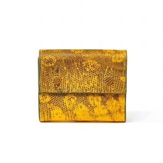 Yellow Lizard Peter Wallet