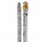 Ceinture Python Beatle Diamond Boucle Or
