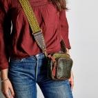 Python Kaki Mini Charly Bag