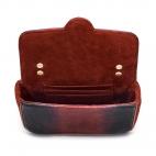 Python Bag Ava Owl Tricolore Burgundy