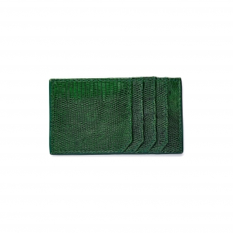 Green Lizard Card Holder JL