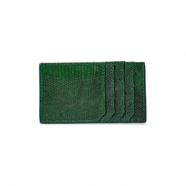 Green Lizard Card Holder JL
