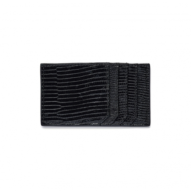 Black Lizard Card Holder JL