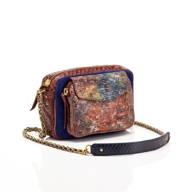 Lizard Watercolor Charly Bag