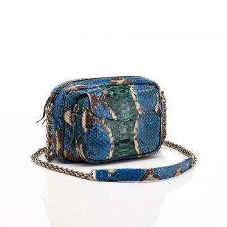 Python Ocean Painted Charly Bag