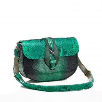 Python Bag Andrea Green Mix