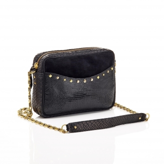 Bag Python Kate Trimat Black