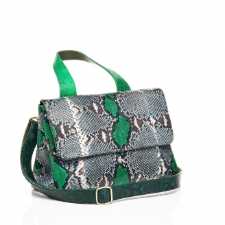 Green Painted Mimi Bag
