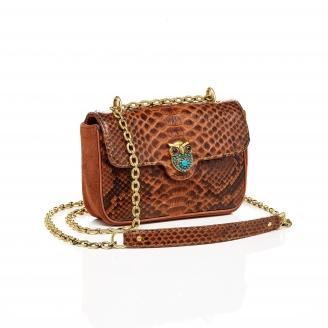 Python Bag Ava Owl Moka