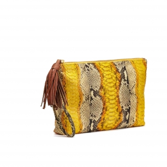 Clutch Python Andy Yellow painted