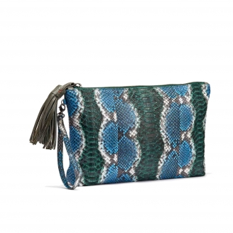 Clutch Python Andy Ocean painted