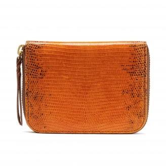 Lizard Wallet Mini Bob Orange
