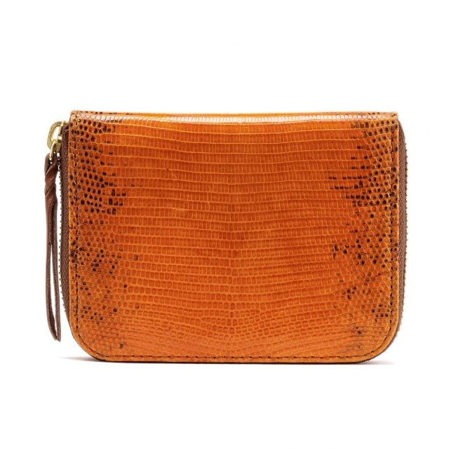 Lizard Wallet Mini Bob Orange
