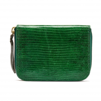Green Lizard Wallet Mini Bob