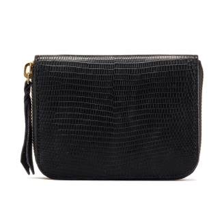 Black Lizard Wallet Mini Bob