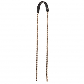 Black Python Golden Chain with Hooks