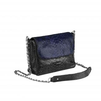 Python Bag Charlotte Black Navy
