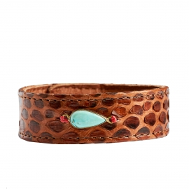 Bracelet Python Moka