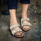 Sandals Odette Diamond Foil