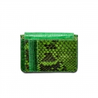 Porte Cartes Python Tess Vert Mix