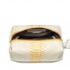 Cream Python Case Paulette