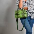 Cactus Python Shoulder Bag Little Mimi