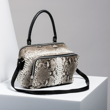 Claris Virot: Bag Lalya Diamond Black Handle - Hiphunters Shop