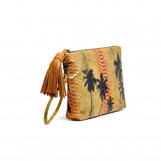 Yellow Palm Python Clutch Python Andy