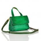 Apple Lizard Shoulder Bag Baby Mimi