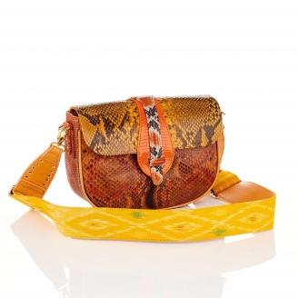 Orange Mix Lizard Bag Andrea