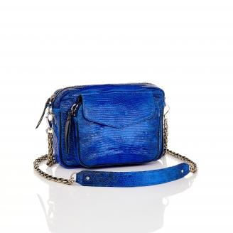 Majorelle Blue Lizard Bag Charly