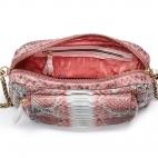 Bubble Gum Python Bag Big Charly Chain