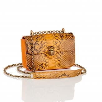 Honey Python Mini Ava Bag