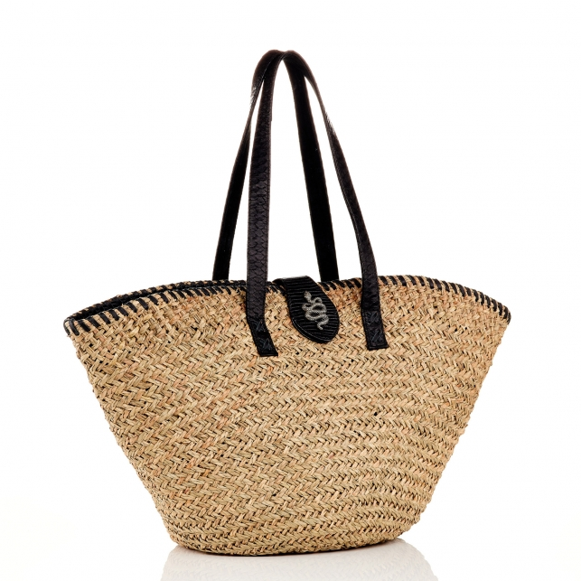Black Basket Zoe Snake