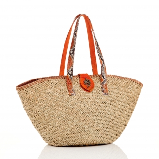 Orange Basket Zoe Snake