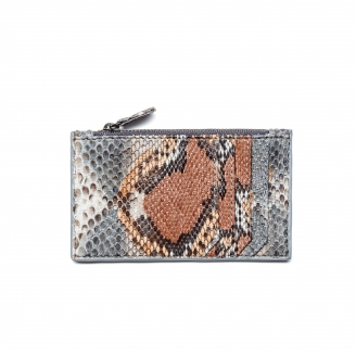 Card Holder Python Big Helena Stone Grey