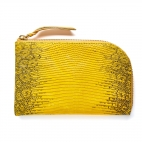 Yellow Lizard Mini Bob Wallet